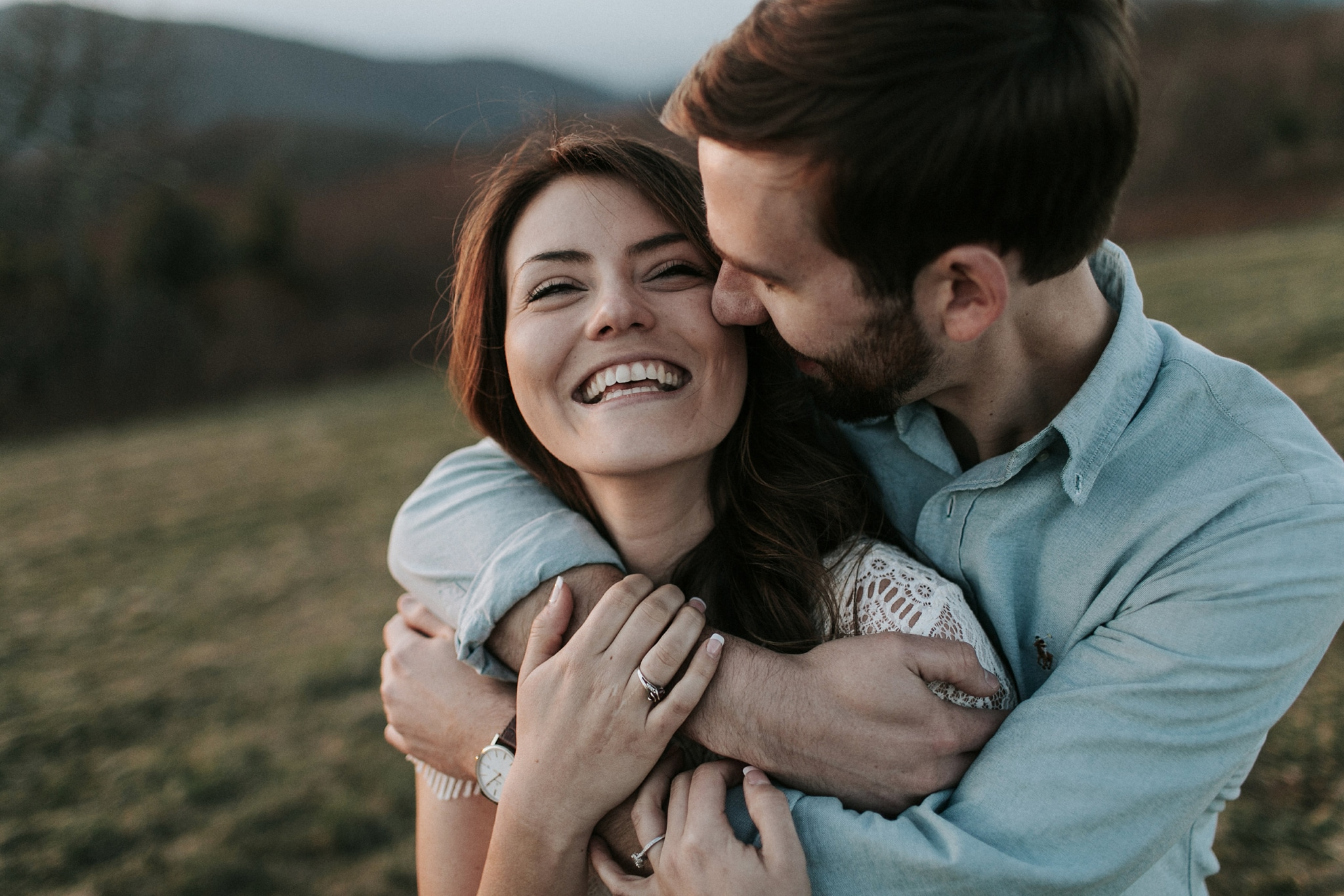 engagement photos at max patch