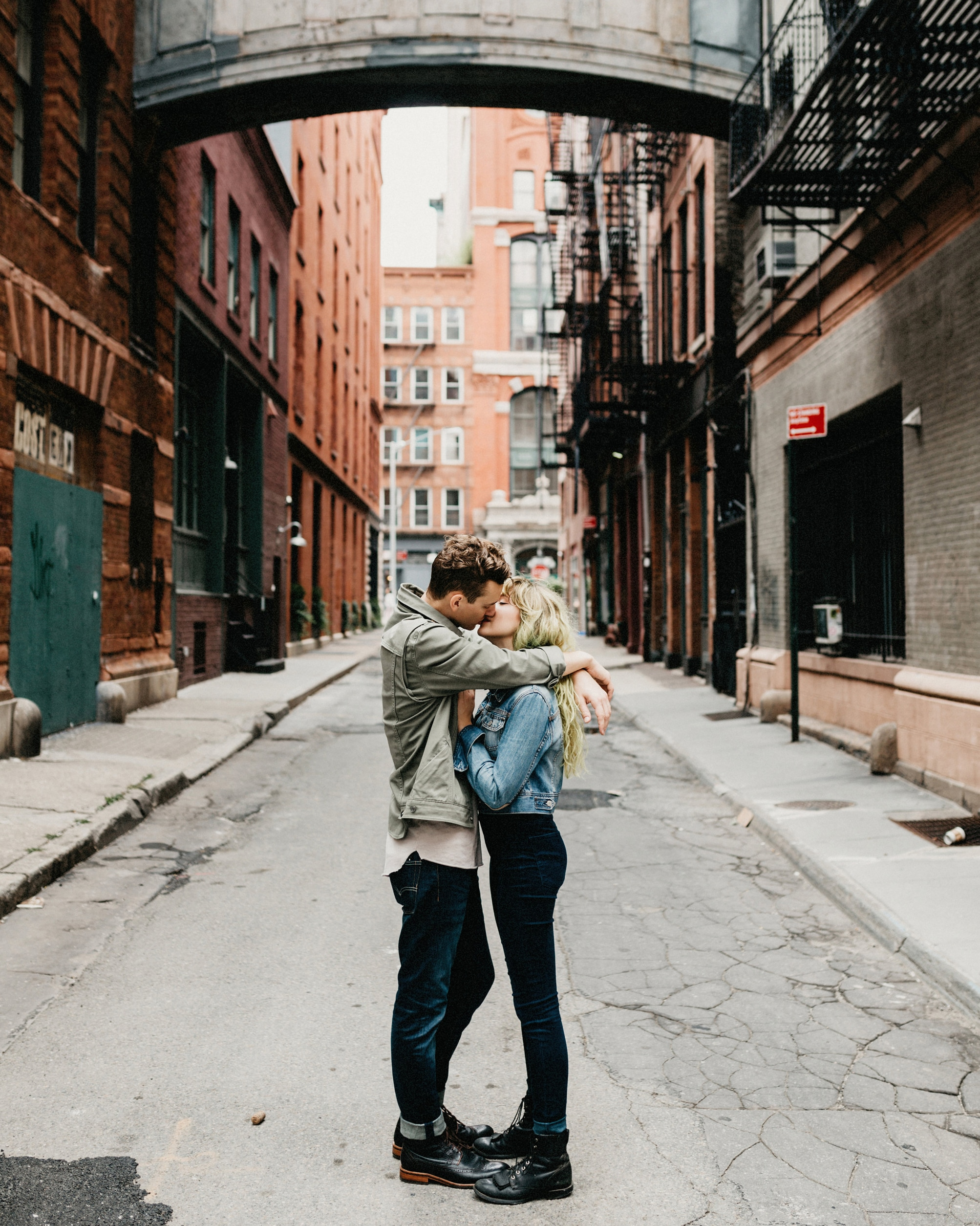 New York city couples session