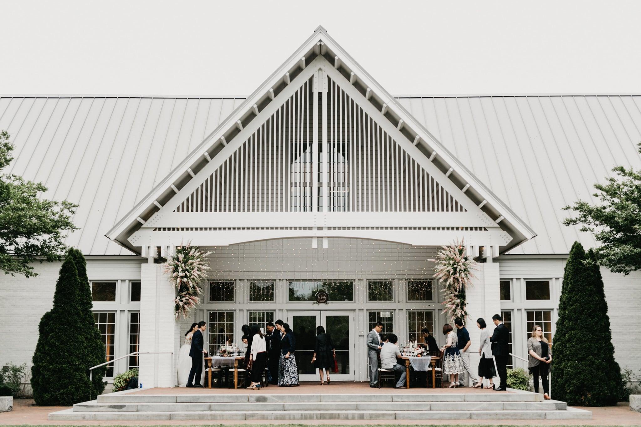 williamsburg wedding reception